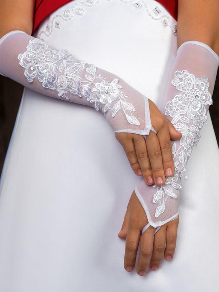 Как сшить перчатки без пальцев для девочки к платью выкройка