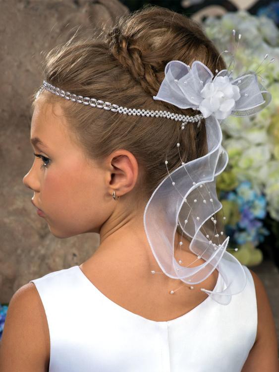 Украшения на волосы девочке своими руками