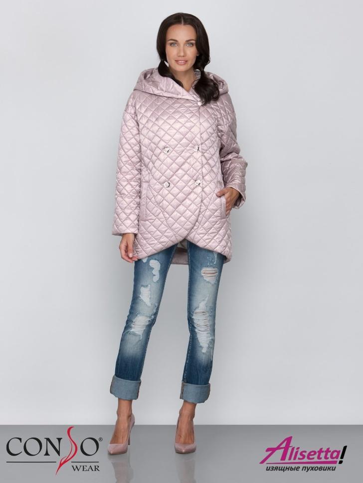 52a4c979391 Купите недорого женскую куртку Conso SS 190121 carmandy с доставкой ...
