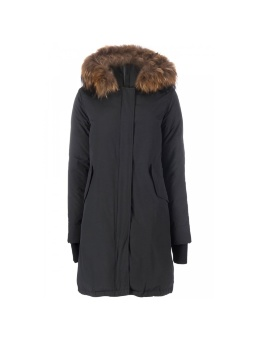Парка женская AIRFORCE 16W1655 True Black Basic Fishtail Long Parka
