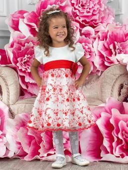 Нарядные платья перлита для девочек