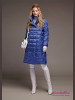 Пуховик Miss NAUMI 18 W 102 00 31 Denim – Синий
