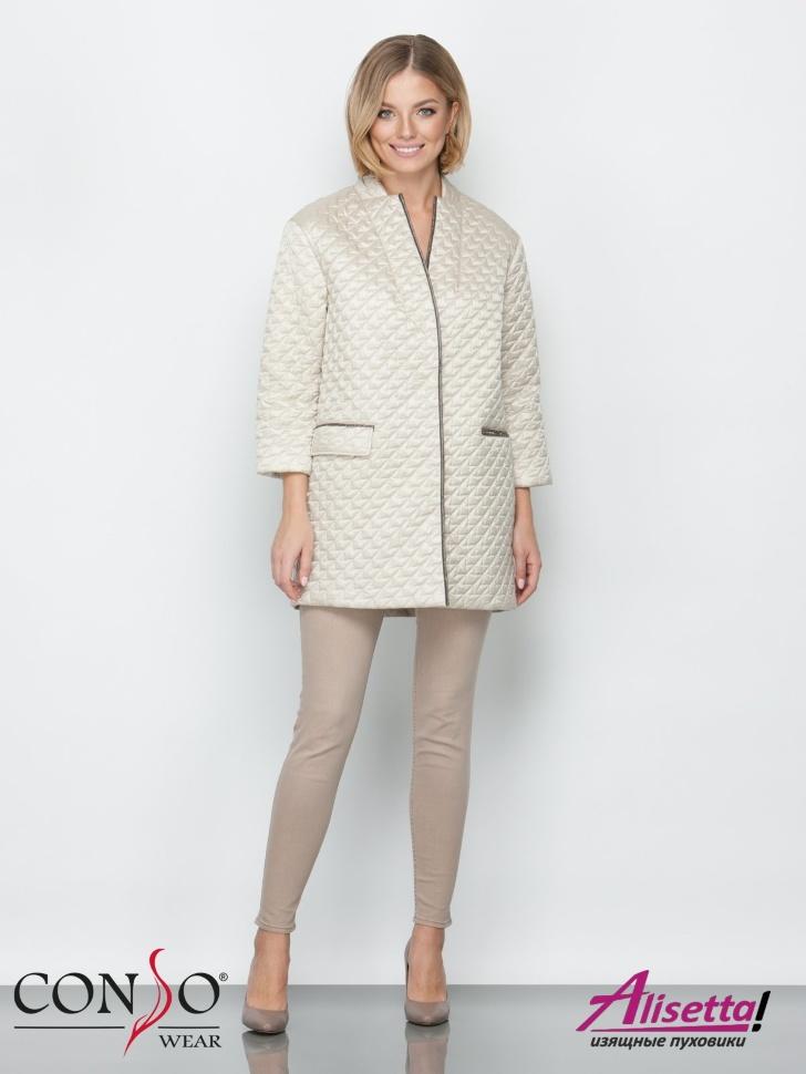 09049537878 Купите недорого женскую куртку Conso SM 190102 beige с доставкой и ...