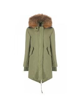 Парка женская AIRFORCE 16W1655 Loden Green Basic Fishtail Long Parka