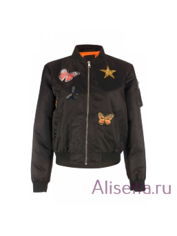 Бомбер женский AIRFORCE - Black - Чёрный