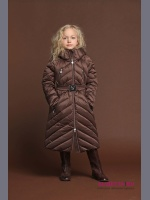 Пуховик PRINCESS NAUMI PN17 211 00 BROWN - коричневый