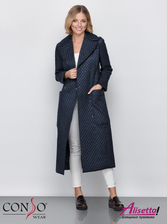 aa66c44247735 Купите недорого женское пальто Conso SL 190112 night с доставкой и ...