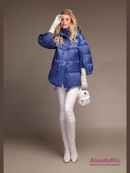 Пуховик Miss NAUMI 18 W 112 00 31 Denim – Синий