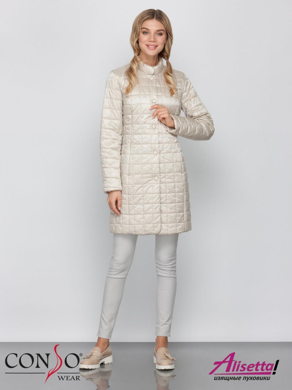 4ff0cb4598391 Купите недорого женское пальто Conso SM 190119 beige с доставкой и ...